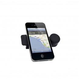 Support de téléphone sur grille de ventilation