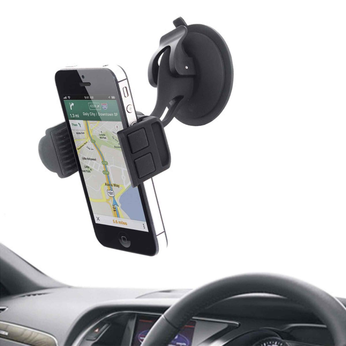 support de voiture pour t l phone portable. Black Bedroom Furniture Sets. Home Design Ideas