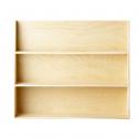 Etagère en bois naturel à 3 niveaux