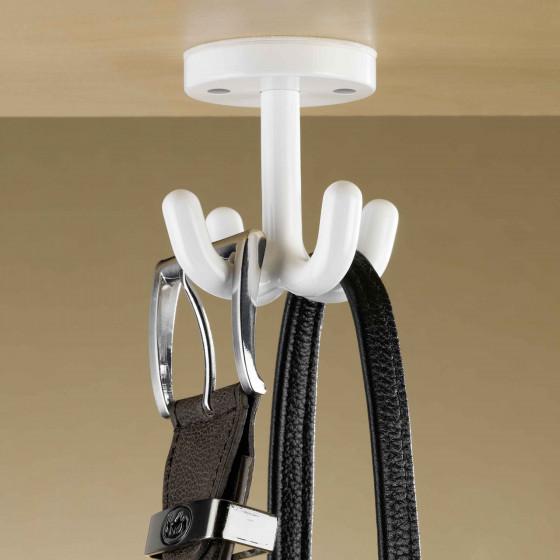 Crochet rangement ceintures