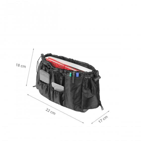 organiseur de sac noir (taille M)