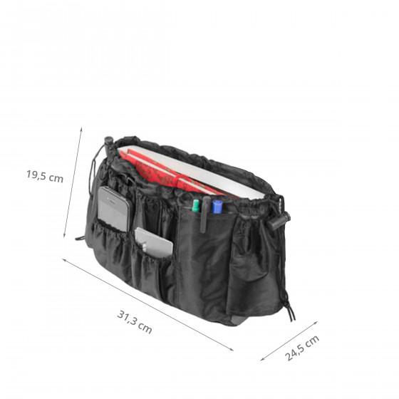 organiseur de sac noir (taille L)