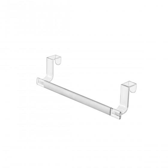 Porte torchon en acrylique transparent