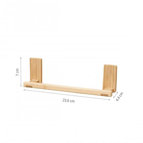 Porte torchon adhésif en bambou