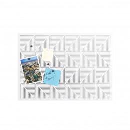 grand panneau adh sif blanc panneaux d 39 affichage. Black Bedroom Furniture Sets. Home Design Ideas