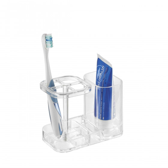Porte brosse dents transparent - Porte brosse a dents ...