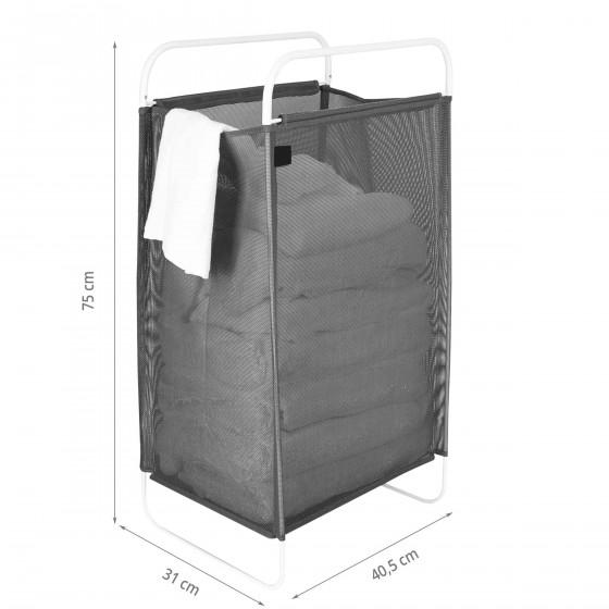 Panier à linge transportable