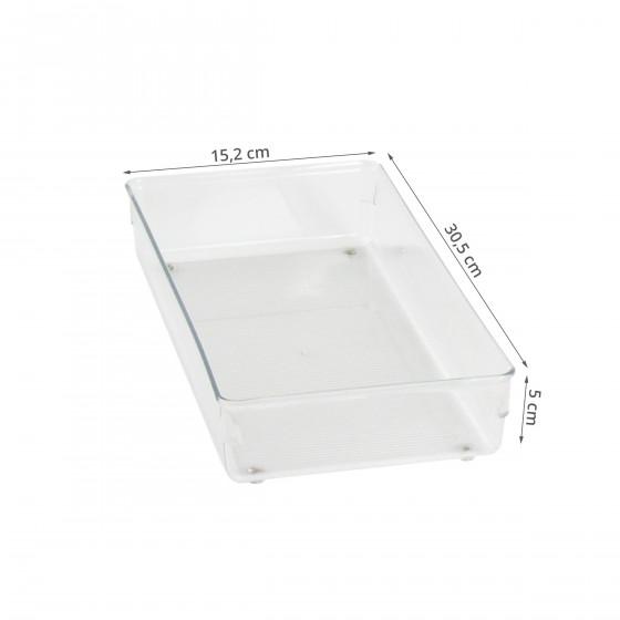 Organisateur de tiroir de bureau acrylique transparent - Organisateur de tiroir cuisine ...