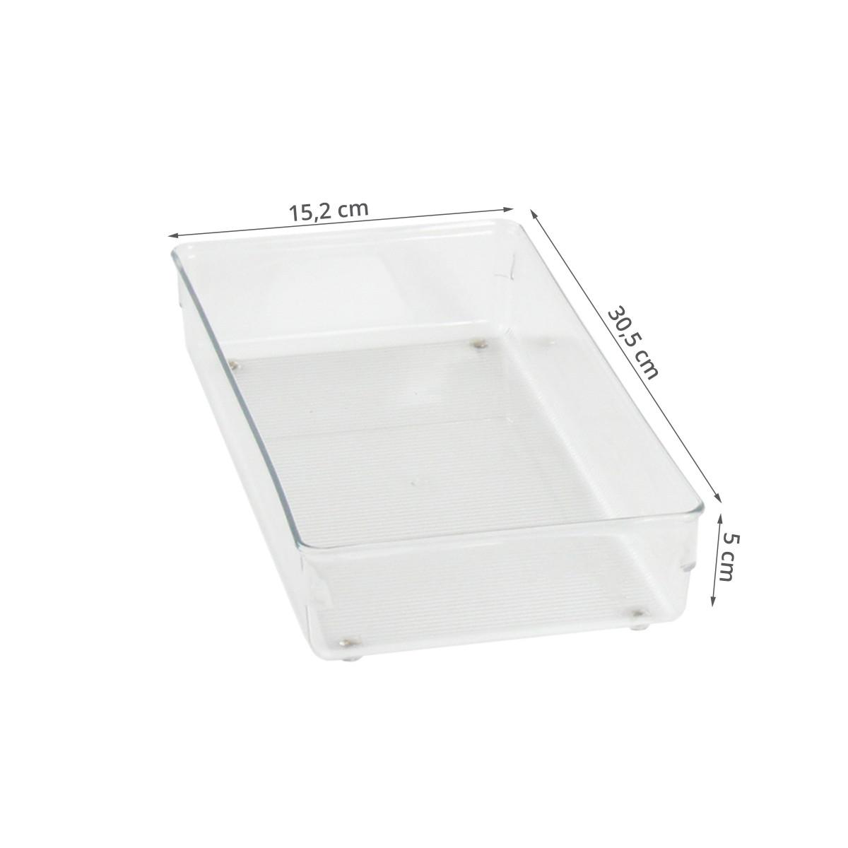 Organisateur de tiroir de bureau acrylique transparent - Organisateur de tiroir bureau ...