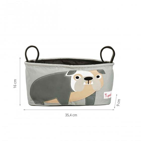 Organiseur de poussette bulldog
