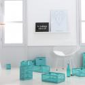 cagette en plastique turquoise rangement fruits et l gumes. Black Bedroom Furniture Sets. Home Design Ideas