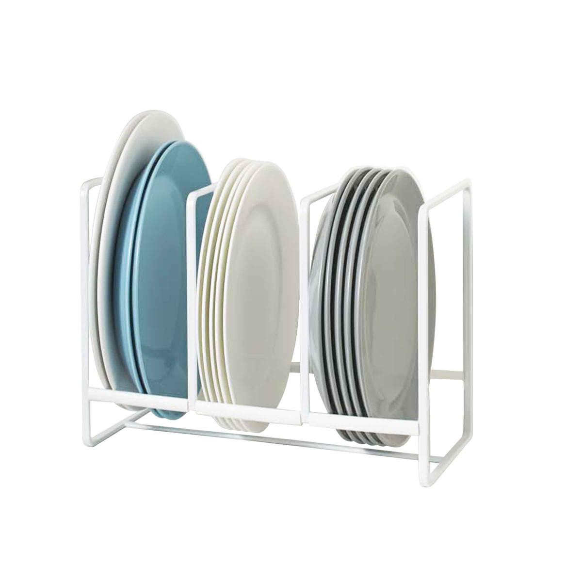 Grand rangement vertical pour assiettes for Rangement vaisselle cuisine