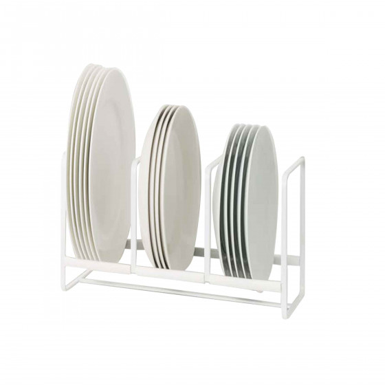 Rack de rangement pour petites assiettes