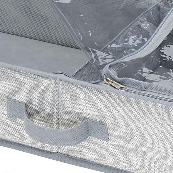 Rangement de bottes sous le lit