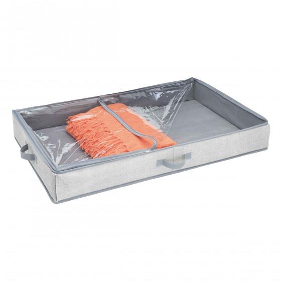 Housse rangement sous le lit rigide - Boite de rangement sous le lit ...