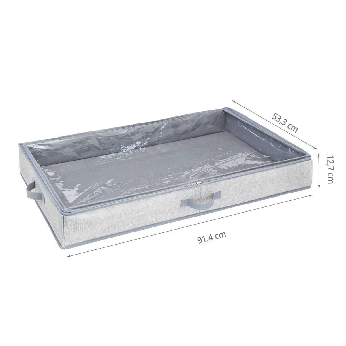 housse de rangement sous le lit rigide - Rangement Sous Lit