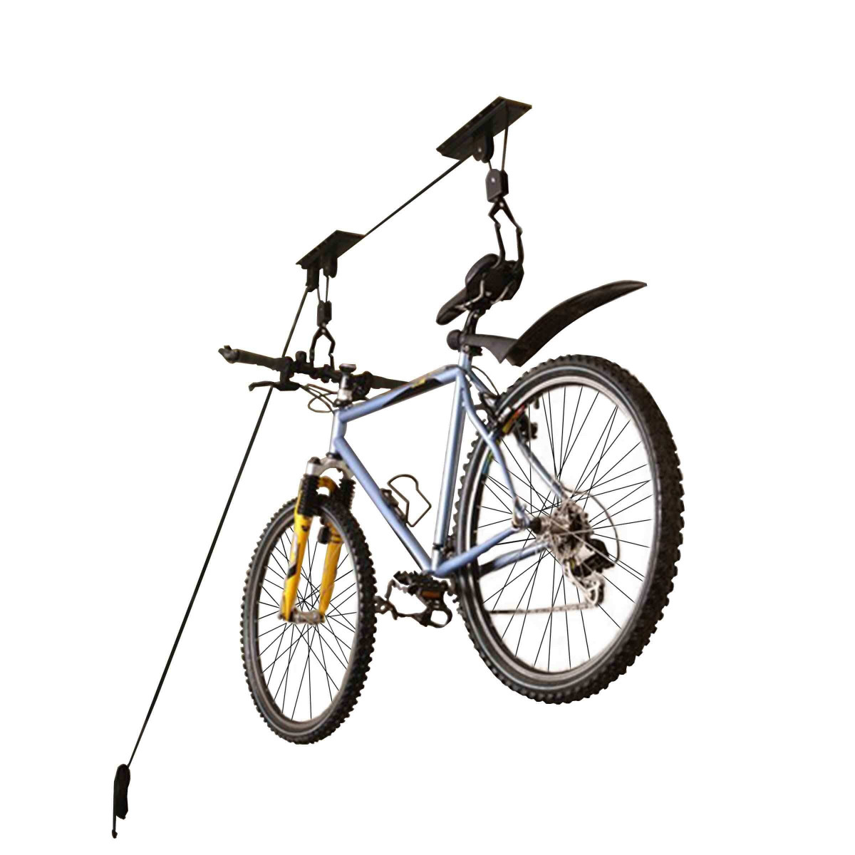 Fixation Pour Velo Garage poulie pour vélo