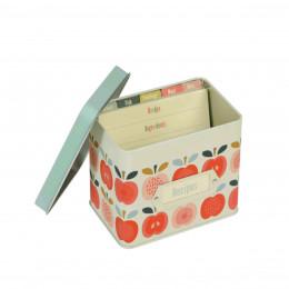 Boîte à recettes vintage