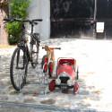 Râtelier 2 vélos à 2 niveaux
