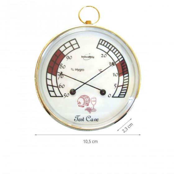 Hygromètre Thermomètre de cave