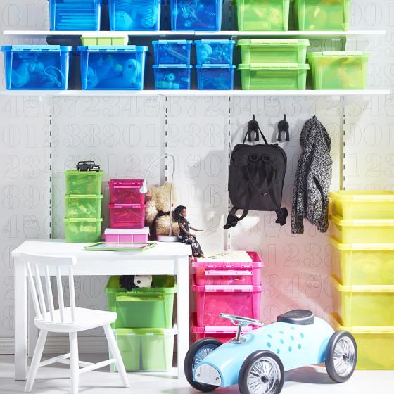 Boîte de rangement jouets d'enfant