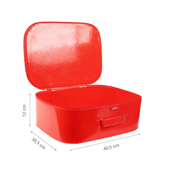 Bagage cabine rouge (M)