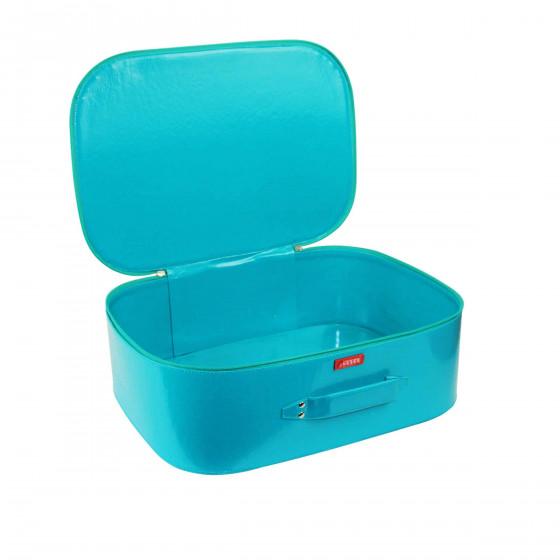 Bagage cabine bleu vert (L)
