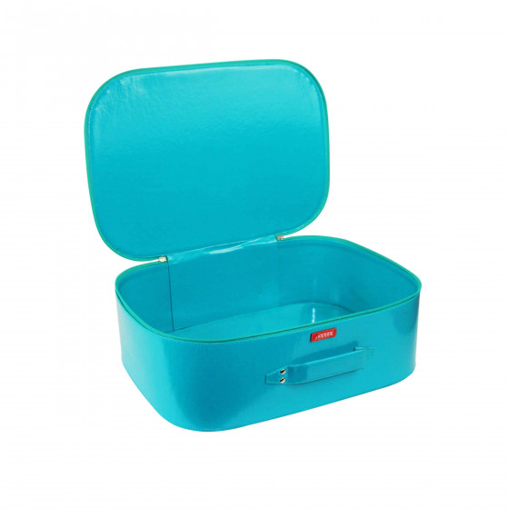 Valise pour enfant bleue (M)