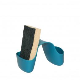 Porte-éponge bleu canard