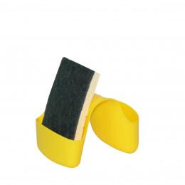Porte-éponge jaune