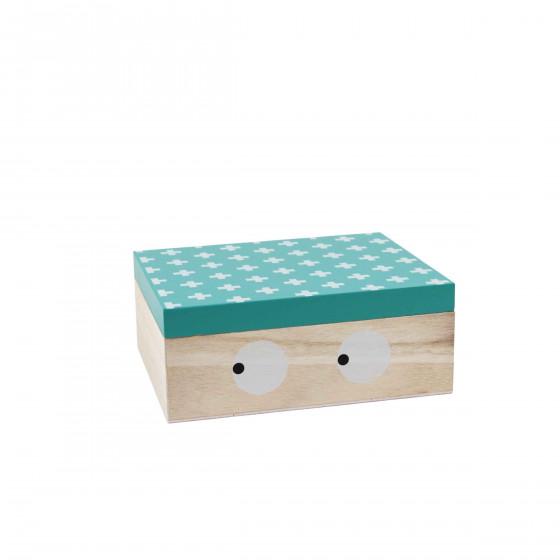 Petite boîte en bois pour enfant