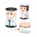 Boîtes à médicaments Dr & nurse