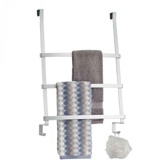 Porte-serviettes à suspendre en aluminium
