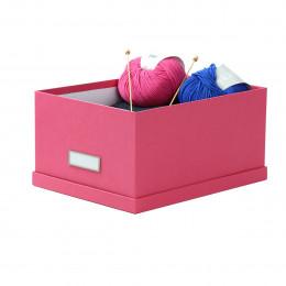 Boîte en carton fuchsia