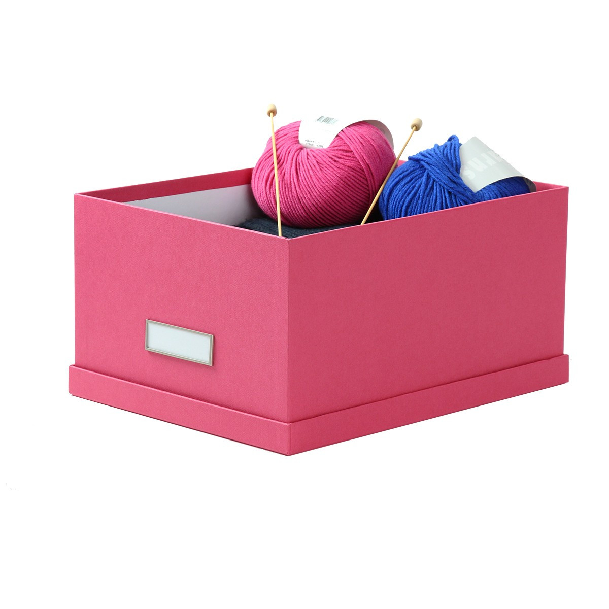 bo te rangement dvd en carton fuchsia. Black Bedroom Furniture Sets. Home Design Ideas