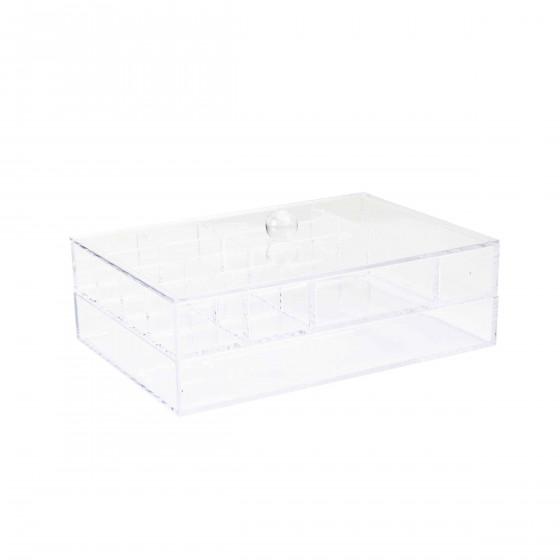 Boîte à bijoux en acrylique