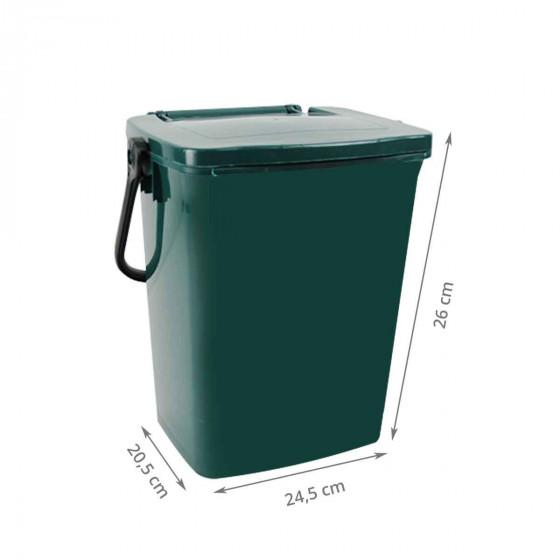 Seau à compost vert