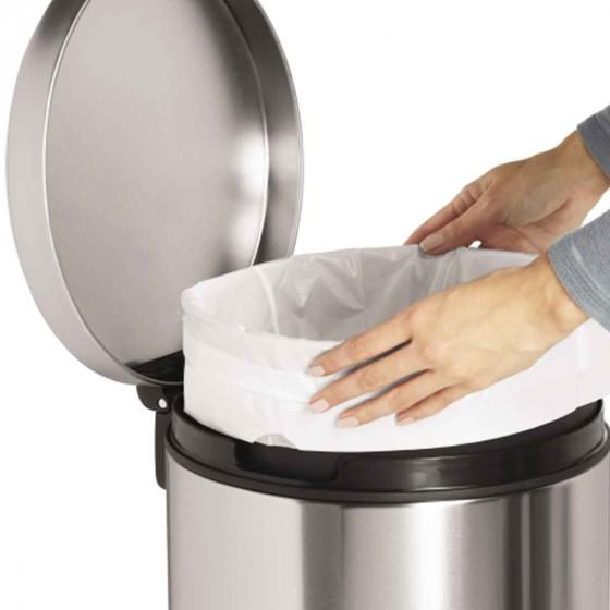 60 sacs poubelle haute 30 litres