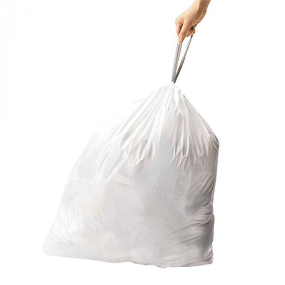 60 sacs poubelle 40 litres