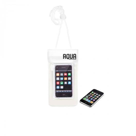 Pochette imperméable pour téléphone avec cordon