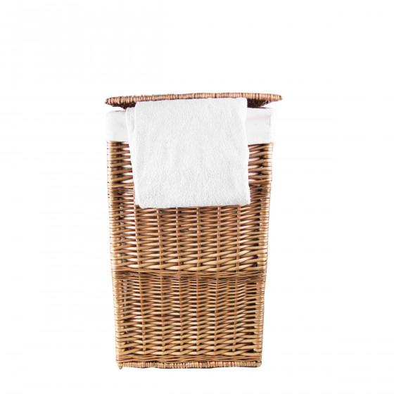 panier linge en osier avec couvercle. Black Bedroom Furniture Sets. Home Design Ideas
