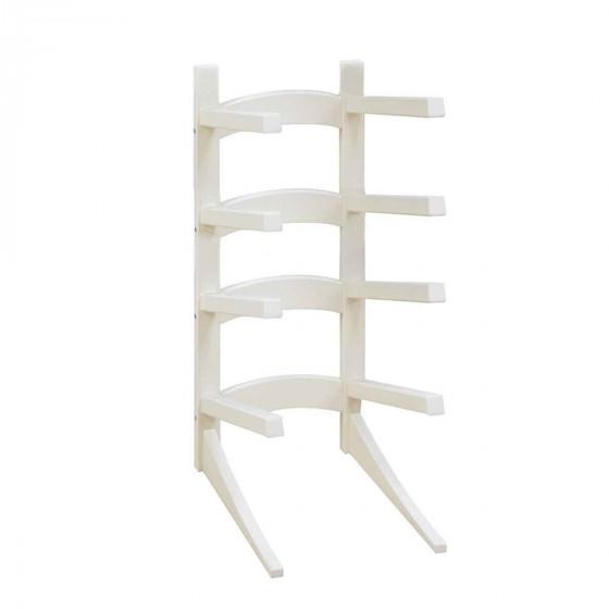 Porte bottes vertical blanc