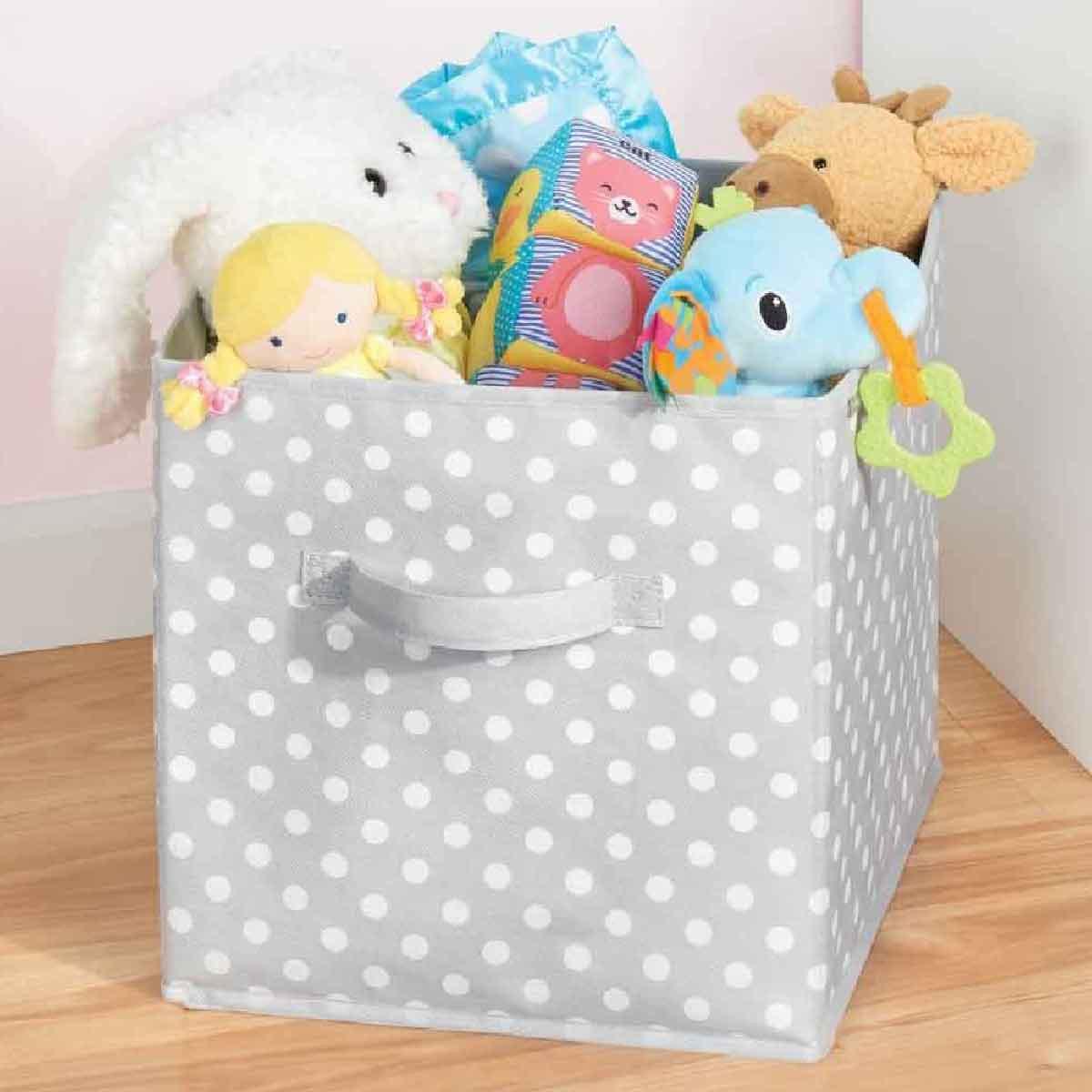 Boite de rangement cube fashion designs - Cube rangement tissu ...