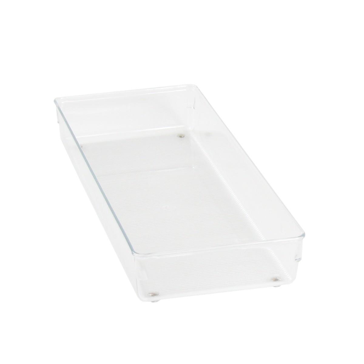 s parateur de tiroir transparent acrylique salle de bain. Black Bedroom Furniture Sets. Home Design Ideas