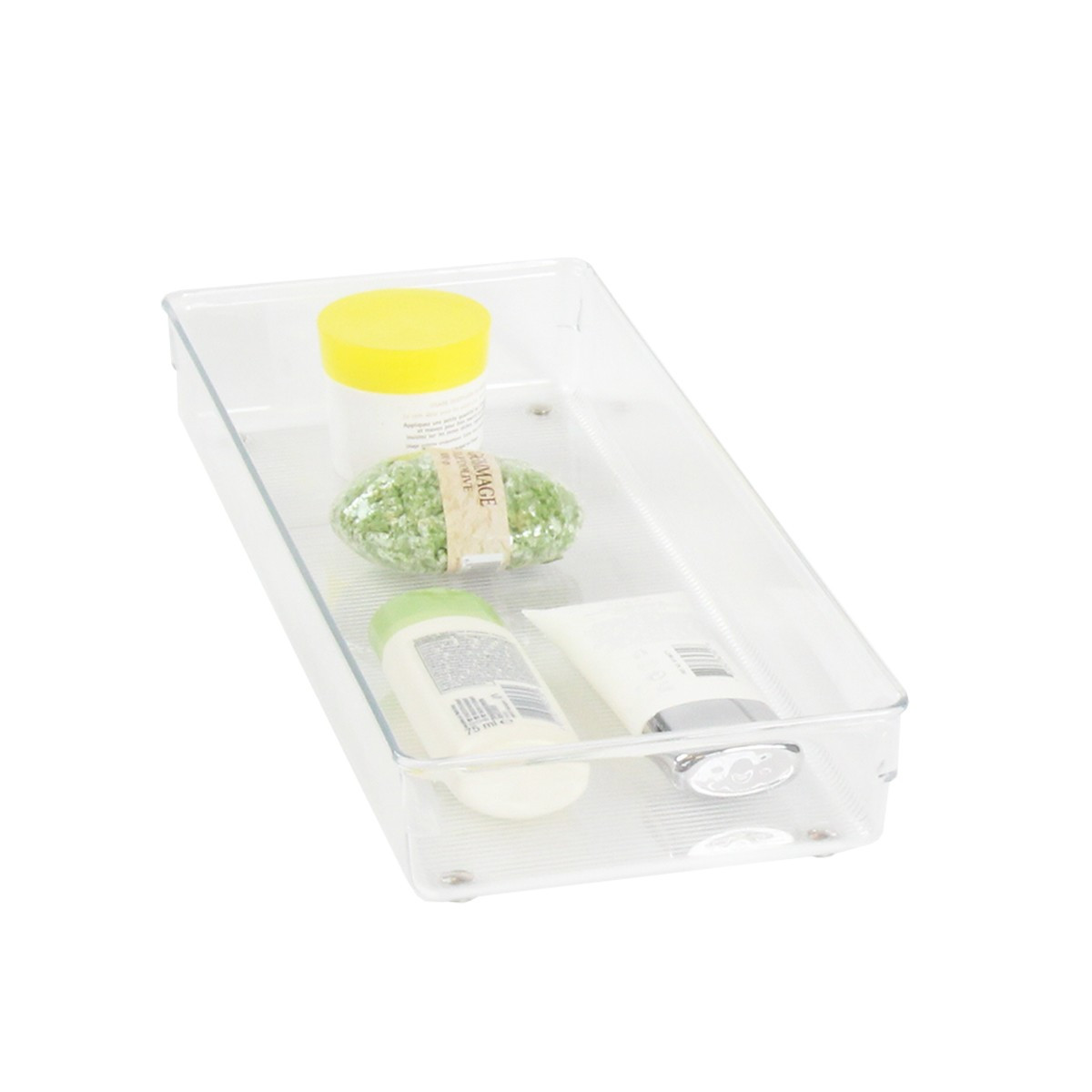 S parateur de tiroir transparent acrylique salle de bain - Organisateur de tiroir bureau ...