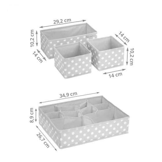 Séparateurs de tiroir bébé (set de 4)