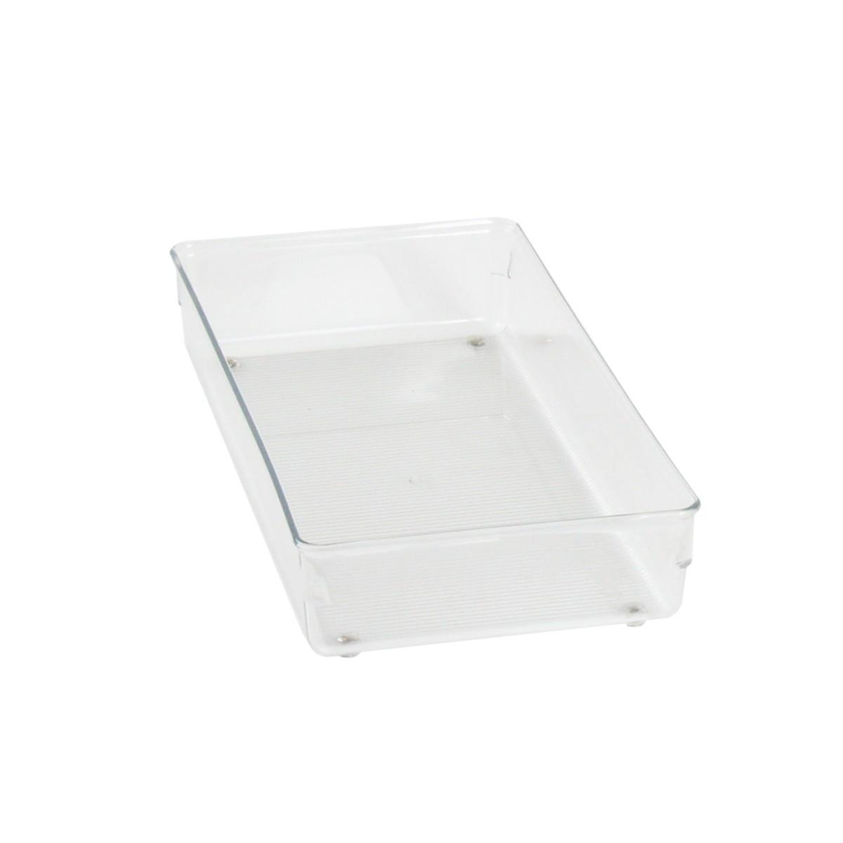 Organisateur de tiroir en plastique rangement salle de bain - Organisateur de tiroir bureau ...