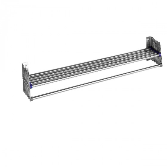 etendoir mural extensible inox