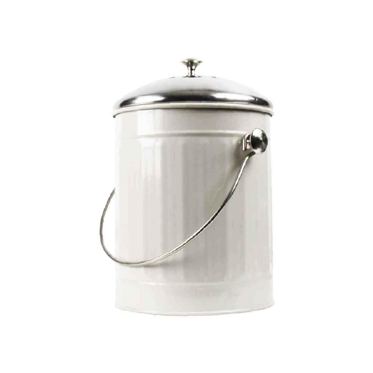 poubelle compost de cuisine 4 4 litres. Black Bedroom Furniture Sets. Home Design Ideas