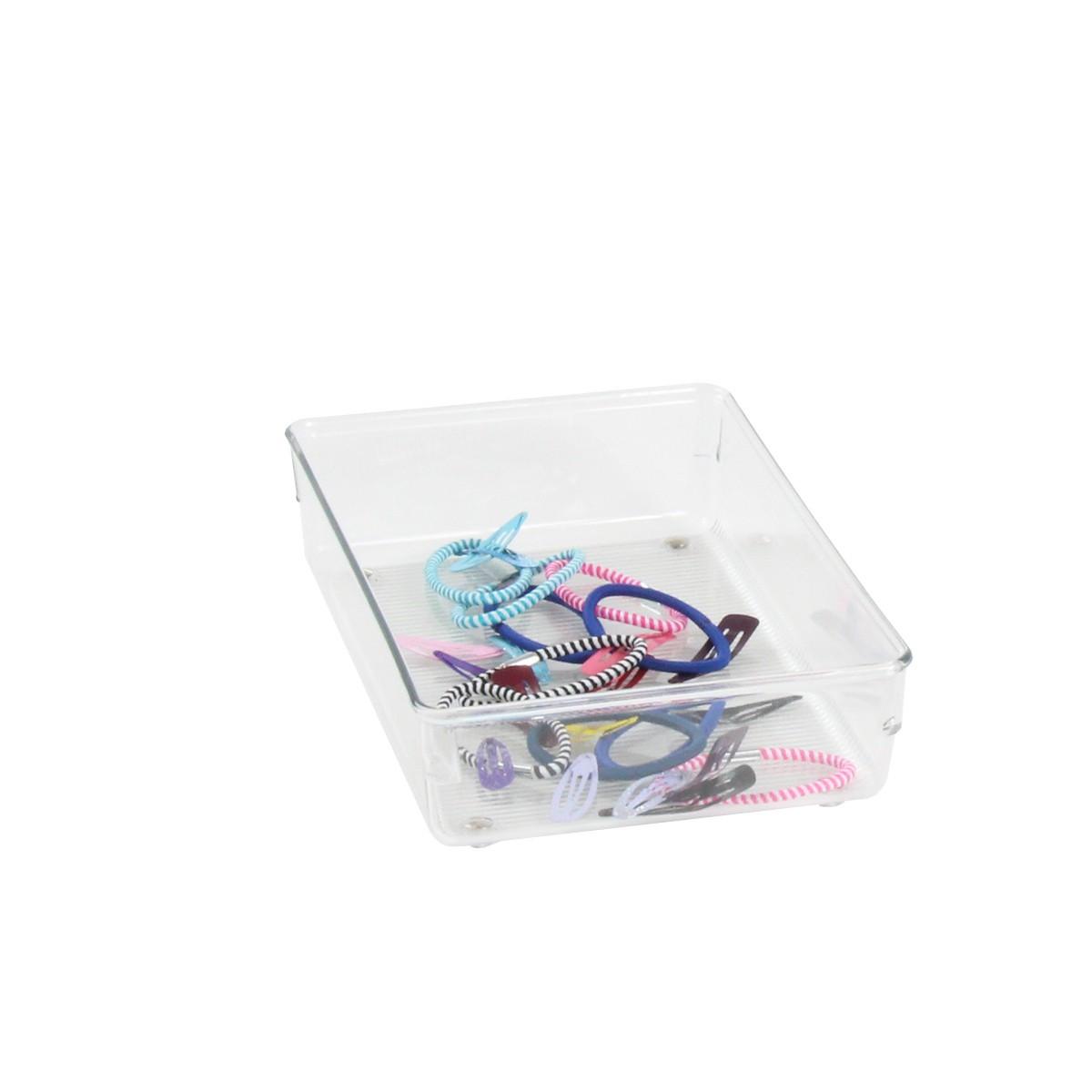 Compartiment de tiroir acrylique rangement salle de bain - Compartiment rangement tiroir ...